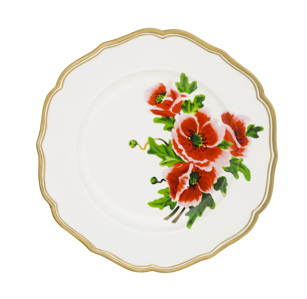 Bitossi Home Dinner Plate French Flower - Plate