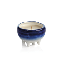 BLUE LAGOON FRAGRANCED CANDLE ( SET OF 2 )