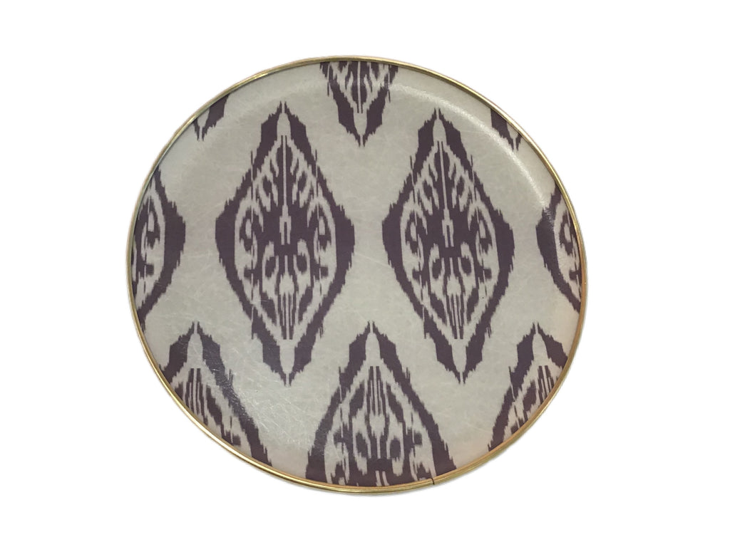 IKAT CIRCLE FIBERGLASS TRAYS