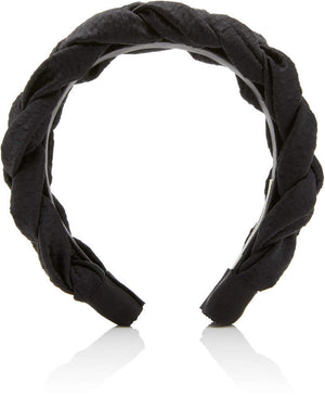 BRAIDED SILK HEADBAND