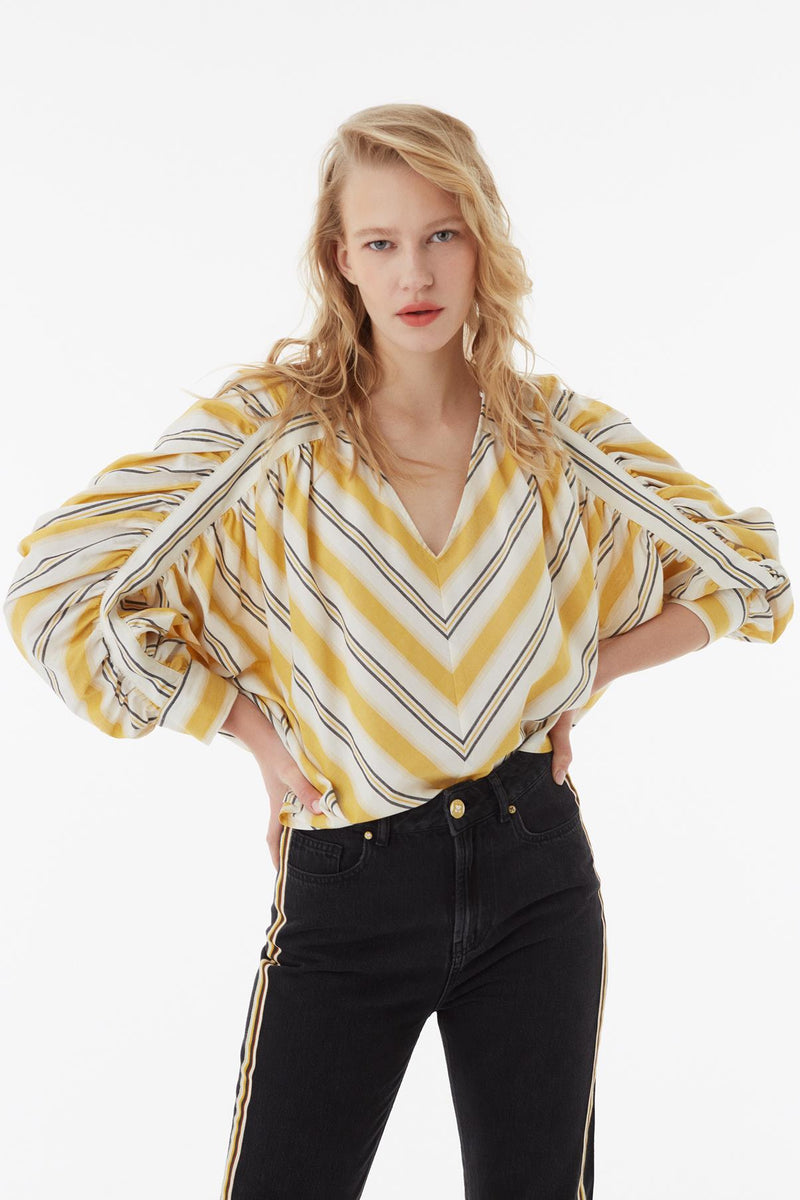 EXQUISE COTTON BLOUSE