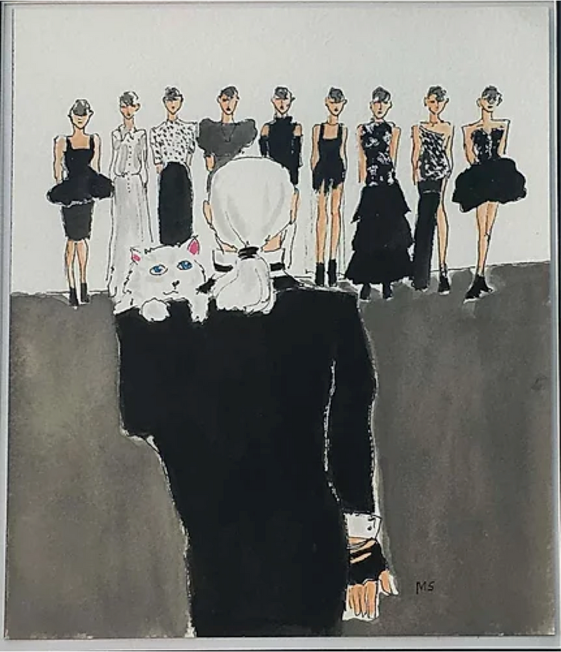 KARL LAGERFELD FASHION SHOW