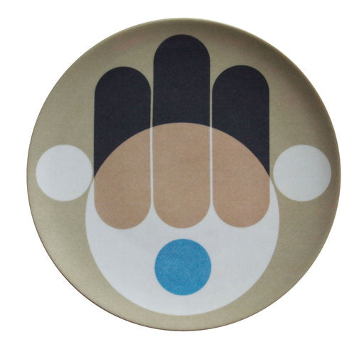HAMSA PLATES (SET OF TWO)