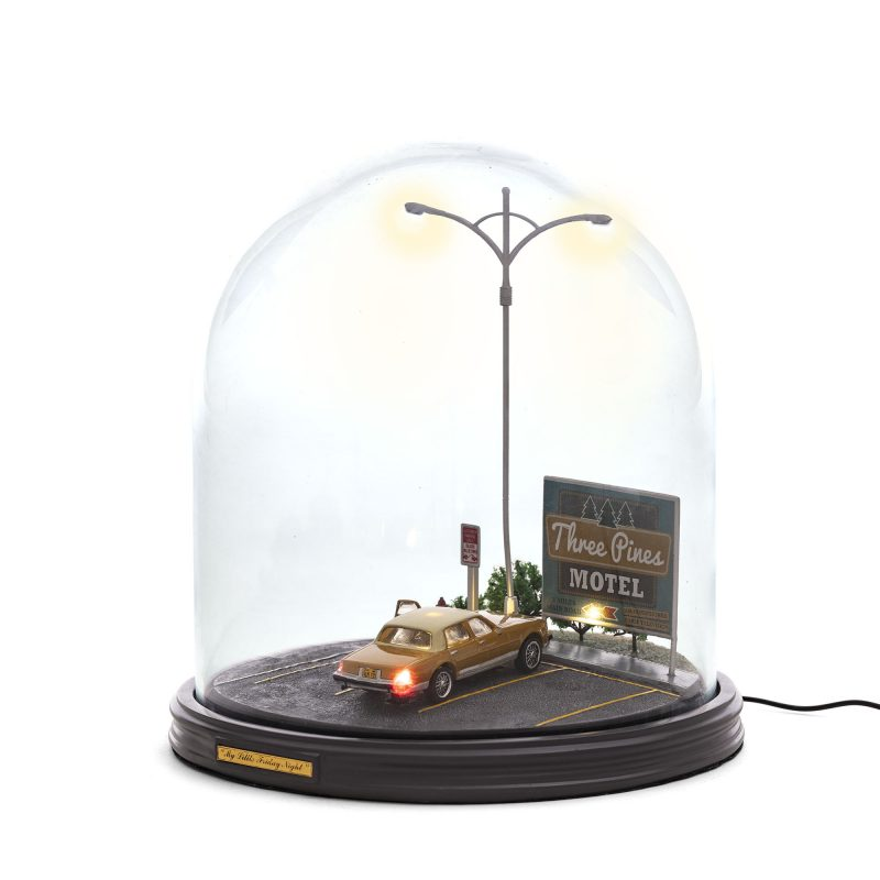 """MY LITTLE FRIDAY NIGHT-EX"" RESIN TABLE LAMP"