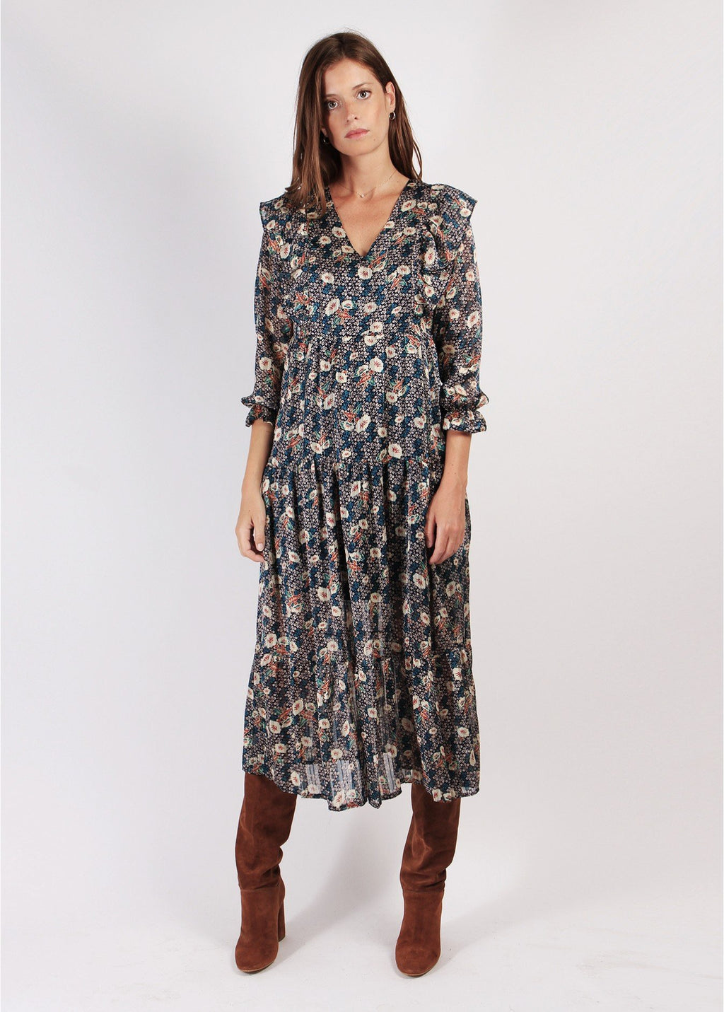 ROBE PALOMA MARINE LONG