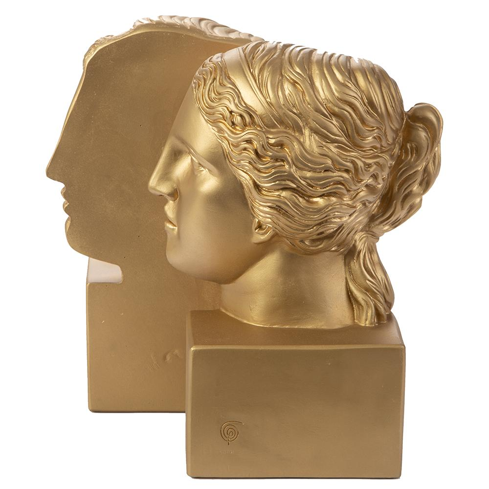 Sophia Bookend Venus - Gold