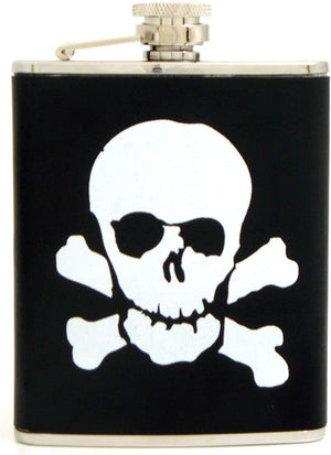 STAINLESS STEEL SKULL FLASK