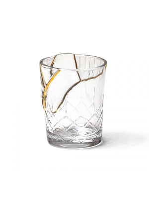 KINTSUGI GLASS CUPS (24K Gold)