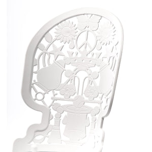 "ALUMINIUM CHAIR ""INDUSTRY COLLECTION"" - WHITE"