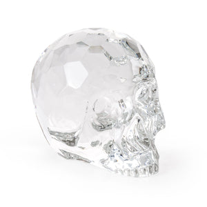 "SELETTI ""THE HAMLET DILEMMA"" CRYSTAL SKULL"