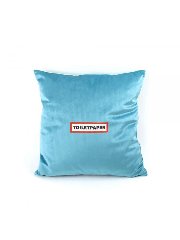 SELETTI x TOILETPAPER DRILL PILLOW