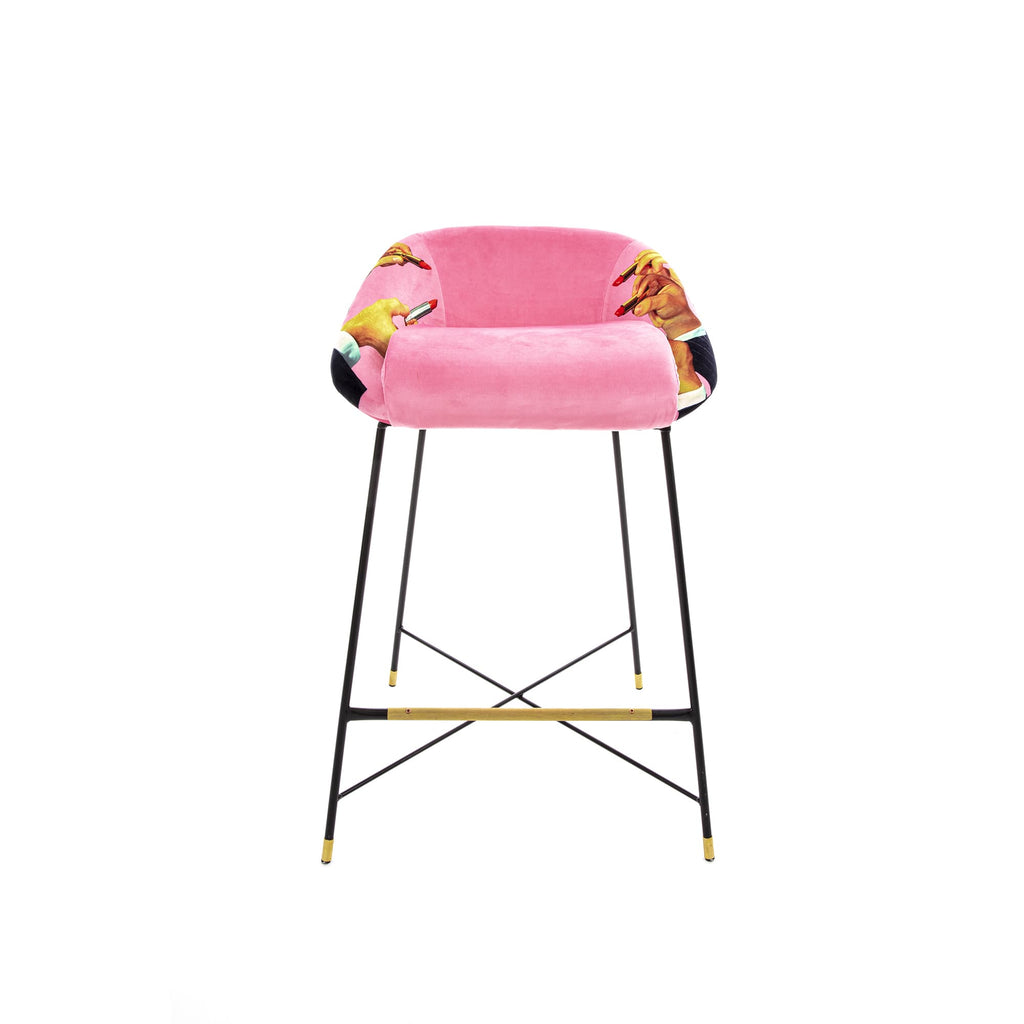 PINK HIGH BAR STOOL