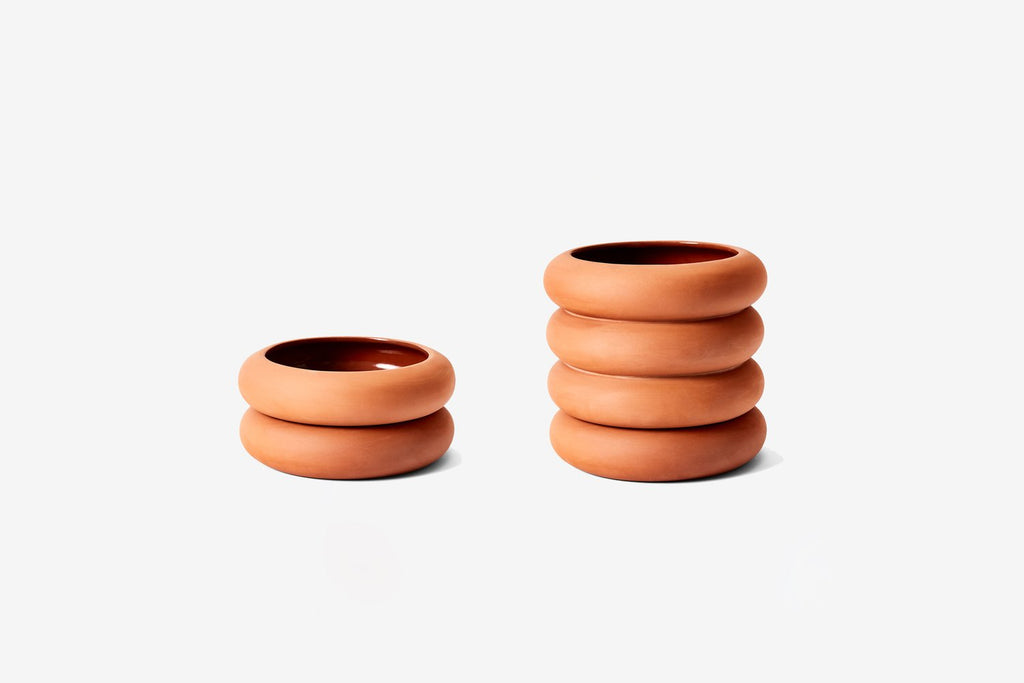 STACKING PLANTER TERRACOTTA