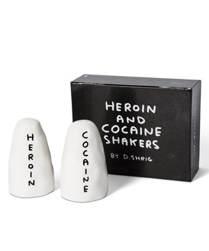 SALT AND PEPPER - HEROIN AND COCAINE