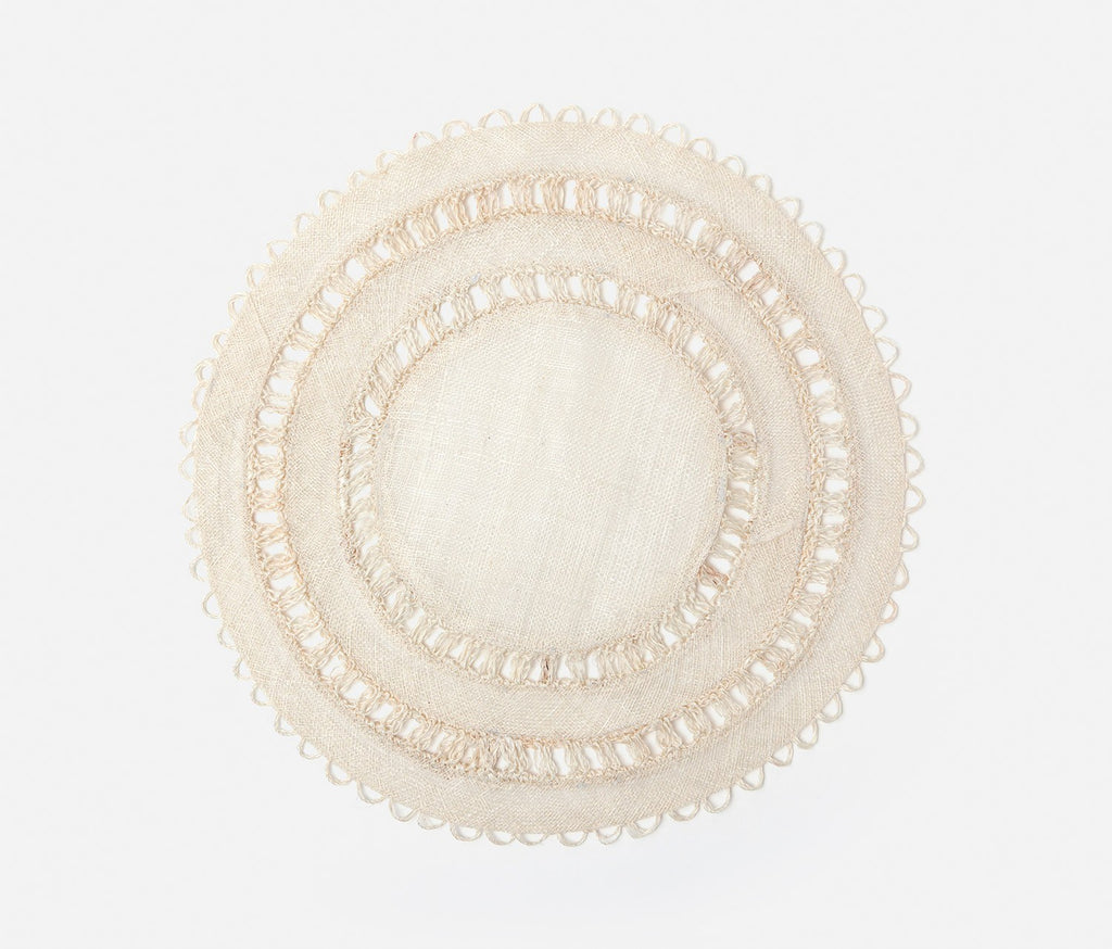 CARMIN ROUND PLACEMAT (SET OF 4)