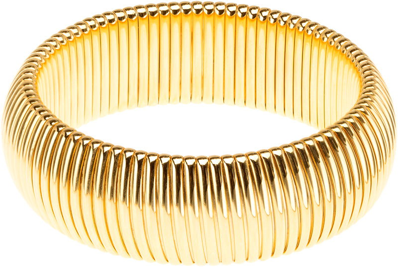 COBRA GOLD BANGLE