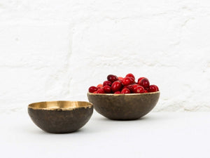 BRONZE BOWLS (SET OF 3)