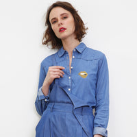 DENIM MARTINA GOLD SHIRT