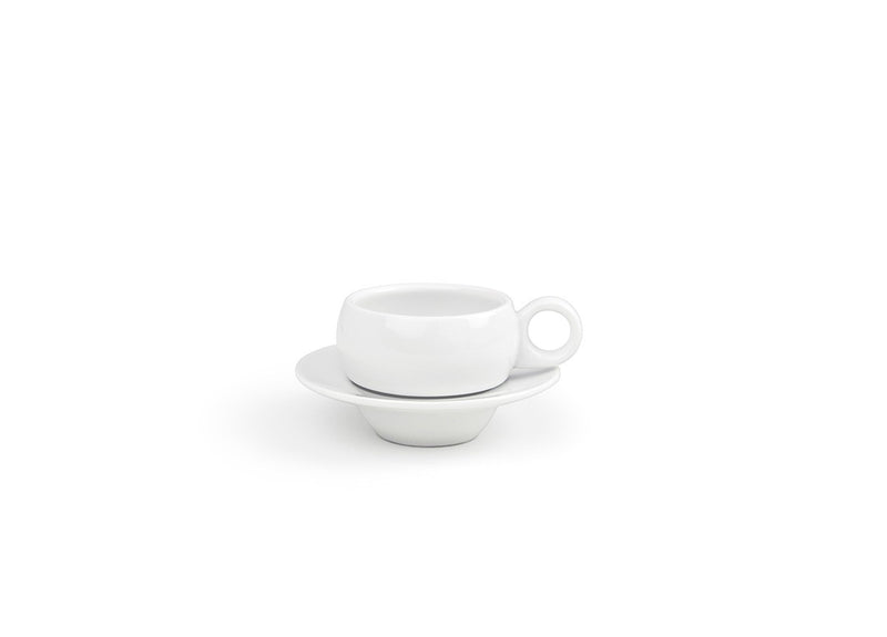 ROUND MONACO COFFEE CUP & SAUCER (SET OF 2)