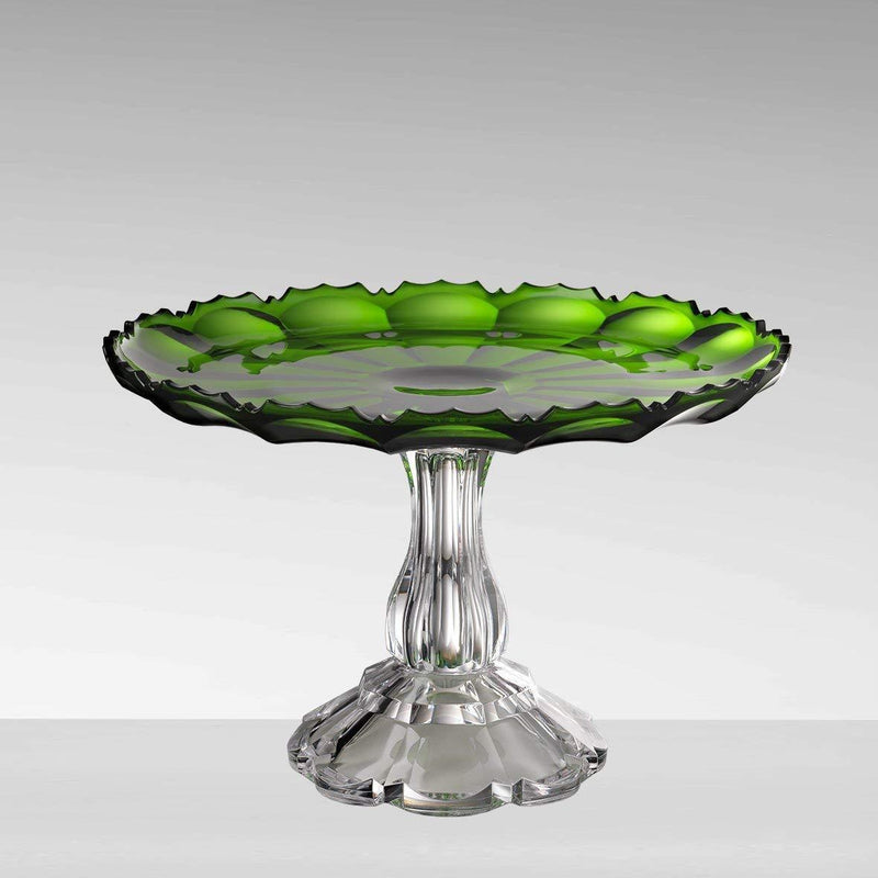 CAKE STAND GREEN