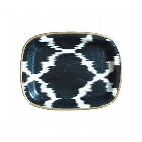 IKAT FIBERGLASS TEA TRAYS