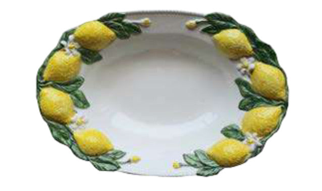 LEMON SERVING TRAY