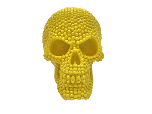 SKULL RESIN YELLOW