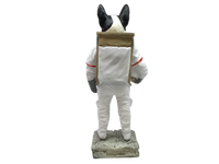 BULLDOG ASTRONAUT RESIN
