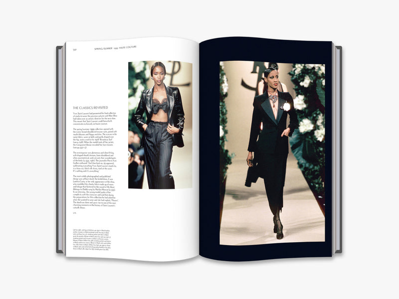 YVES SAINT LAURENT CATWALK BOOK