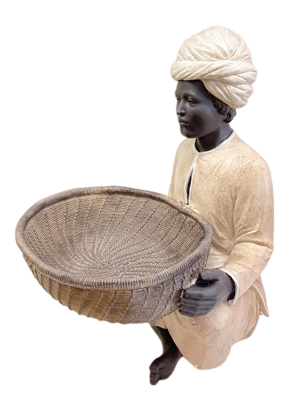 MAN WITH BASKET