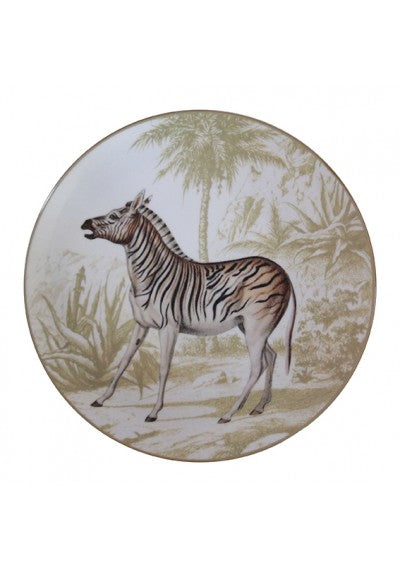 MENAGERIE ANIMAL PLATES