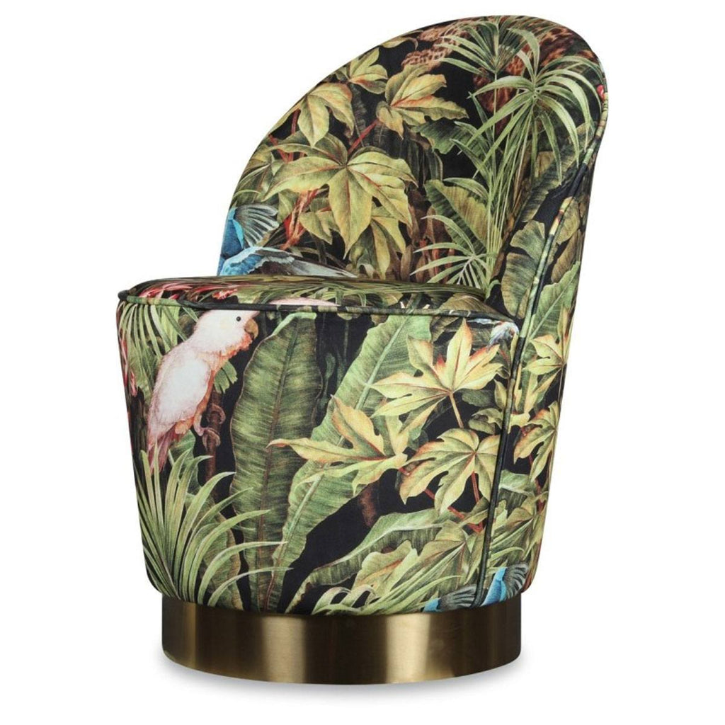 JUNGLE ARMCHAIR & POUF SET