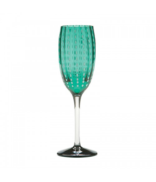 PERLE CHAMPAGNE FLUTE GLASSES (SET OF 2)