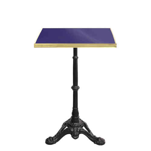 CUSTOMIZABLE ENAMELED SQUARE BISTRO TABLE