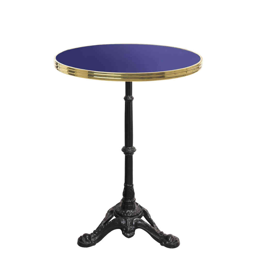 CUSTOMIZABLE ENAMELED BISTRO TABLE