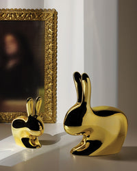 GOLD RABBIT BABY CHAIR METAL FINISH