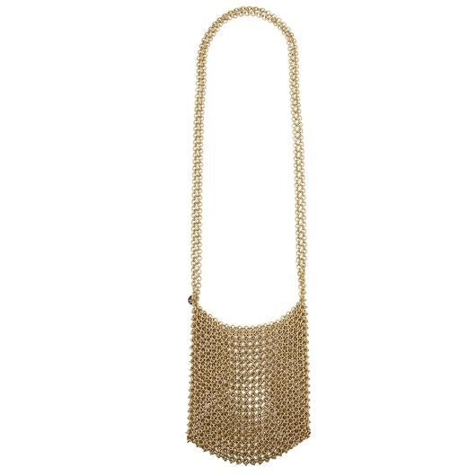 APOLLONIA CHAIN SHOULDER BAG