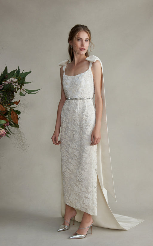 Celestia Beaded Lace Dress