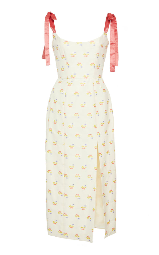 Darcy Floral Embroidered Dress