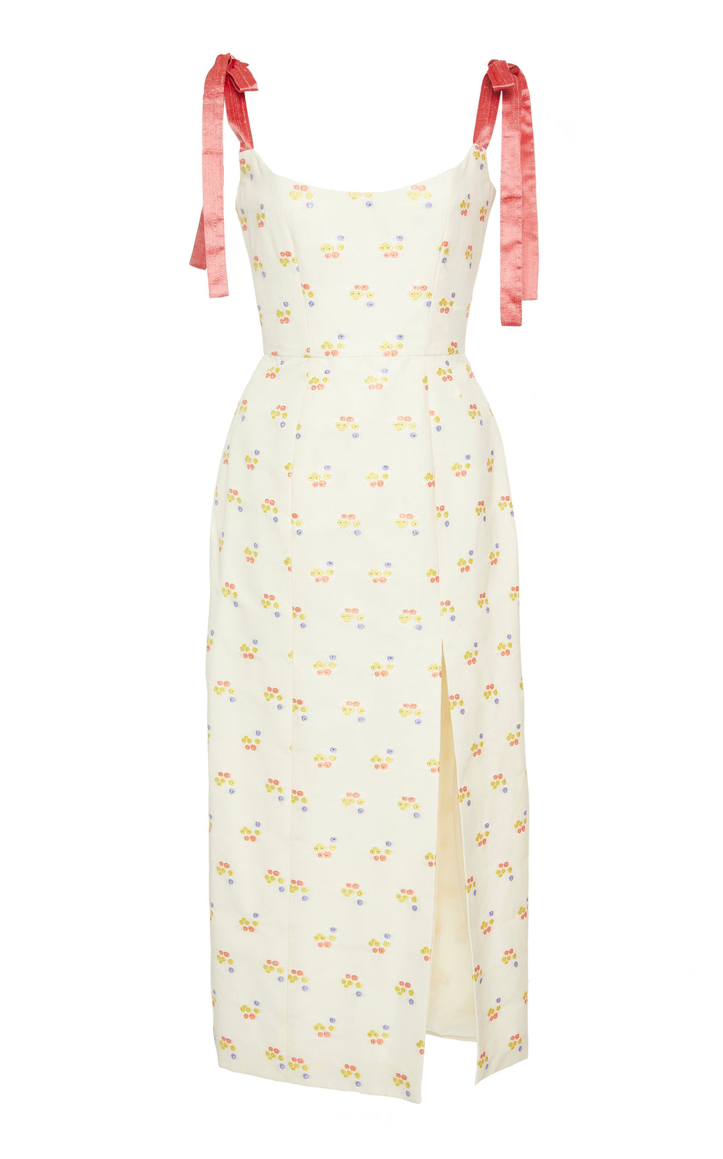 Darcy Floral Embroidered Corset Dress