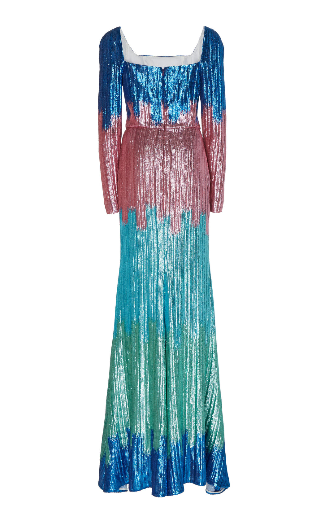Elizabeth Ombre Sequin Dress
