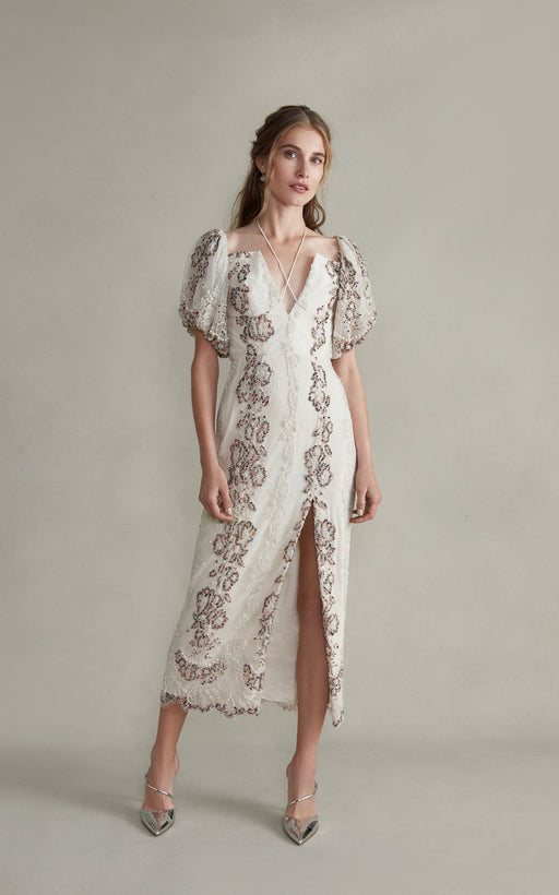 Hestia Beaded Lace Dress