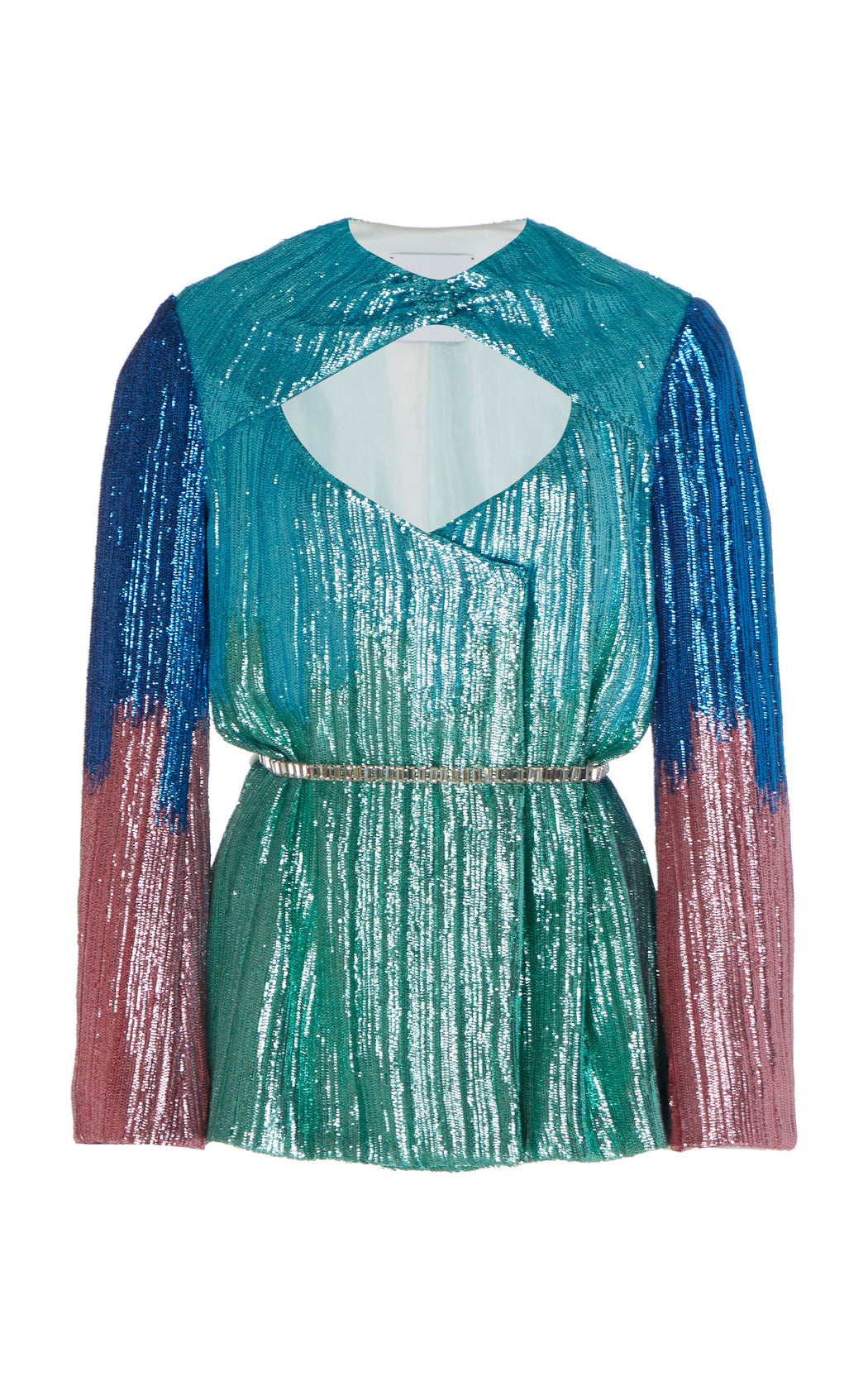 Lauren Ombre Sequin Jacket Top