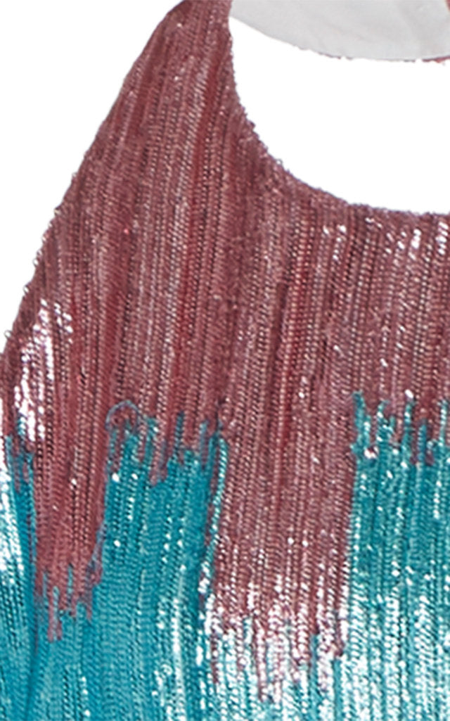 In Stock: Marlene Ombre Sequin-Embellished Mini Dress