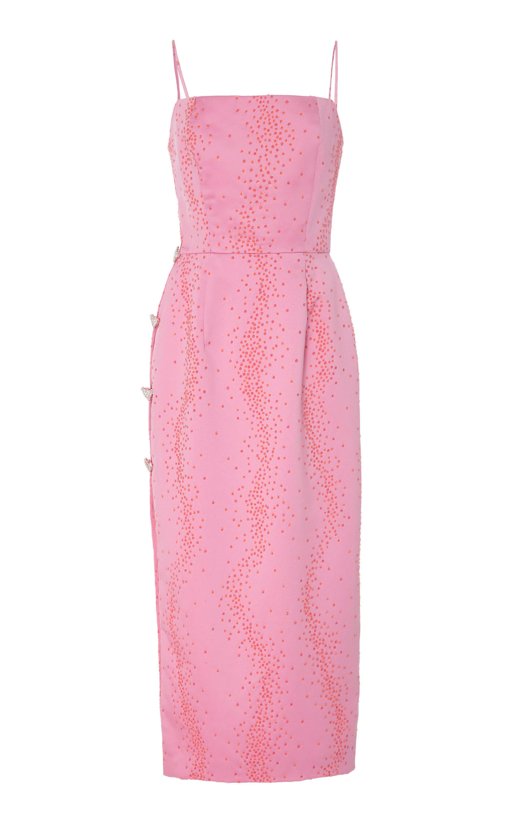 Ruhi Pink Embellished Dress