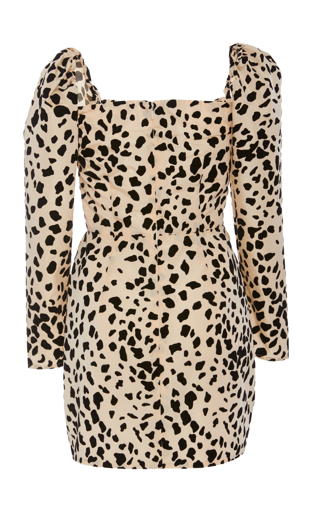 Love Hangover Dalmatian Print Mini Dress