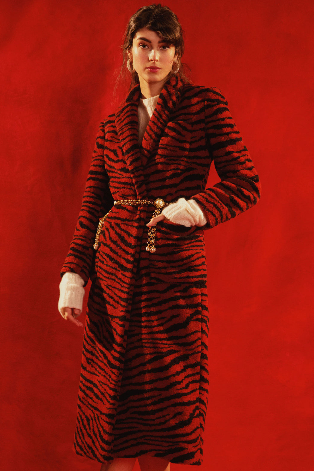 Le Tigre Wool Coat