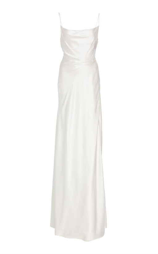 In Stock: Rock Your Baby White Silk Gown
