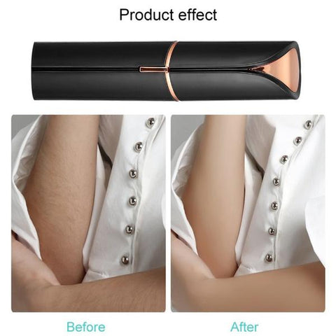 flawless hair remover before after