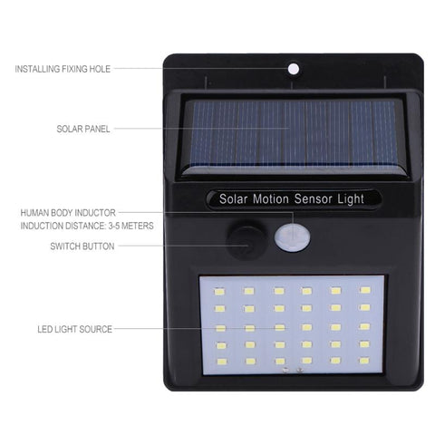 Image of Outdoor Security LED Light System - The Trendy Hero